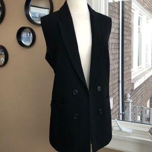 Fancy vest in black